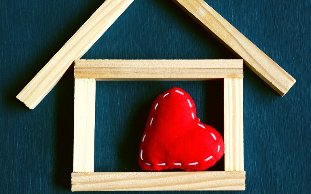 Home is where the heart is but what if your heart doesn't know where that place should be? – all very apt for Valentines